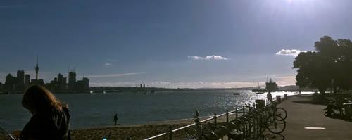 RoadtripNZ - Devonport Boardwalk and Auckland City by fleetofgypsies