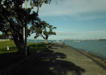 RoadtripNZ - Devonport Boardwalk Looking East by fleetofgypsies