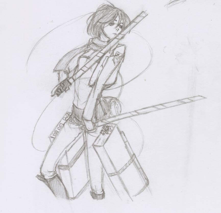 Mikasa by aniraie