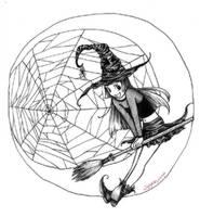 witch girl by spyra
