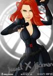 Black Widow by jewel-X