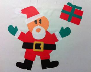 Paper Santa by CptPhoenix