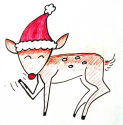 Deer Christmas by CptPhoenix