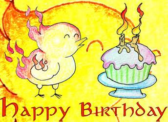 Happy Birthday Rising Phoenix Games by CptPhoenix