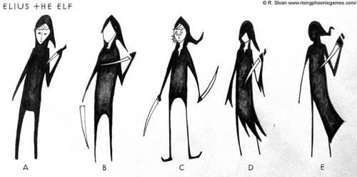 Elius the Elf - Concepts by CptPhoenix