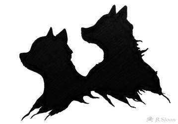 Kitsune Cub And Vixen by CptPhoenix