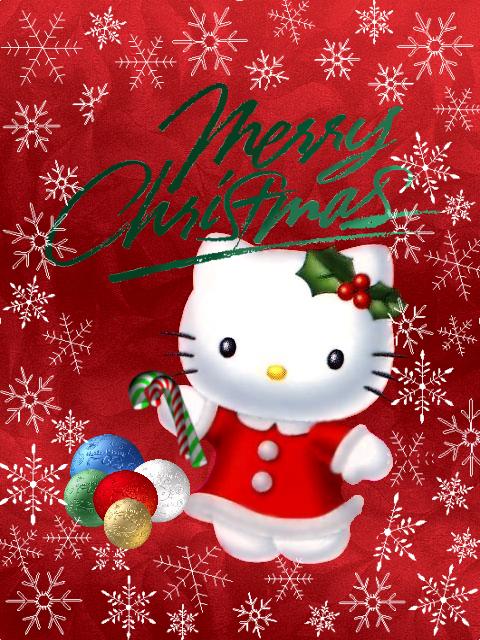 My Hello Kitty Christmas Card by TNBrat on DeviantArt