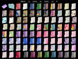 Folder Icons WIP by TNBrat