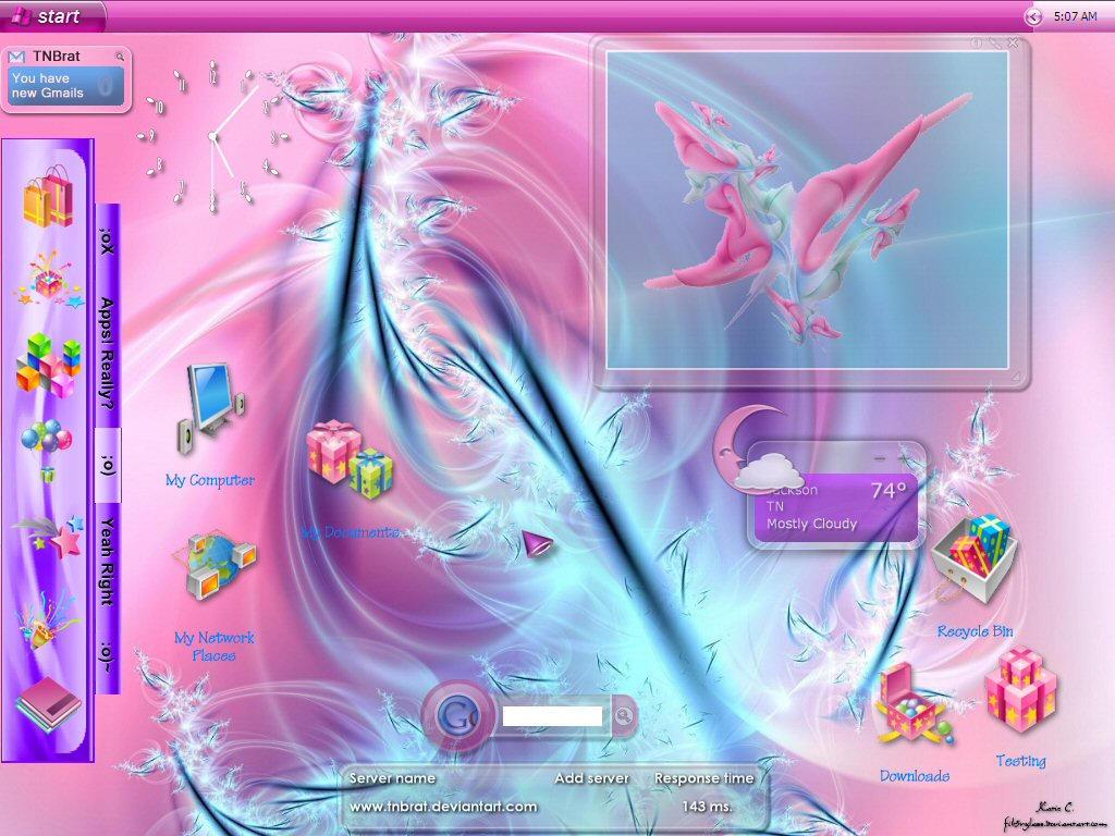 Current Desktop June 6 '05 by TNBrat