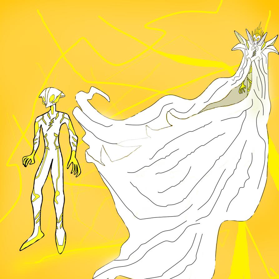 Dreamkeepers X the Flash(Nabonidus/Godspeed) by davidshadow275