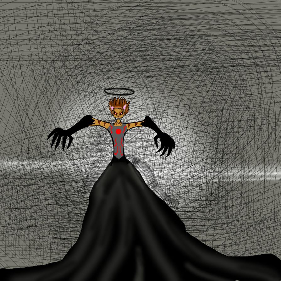 David-shadow hunter (Angry) by davidshadow275