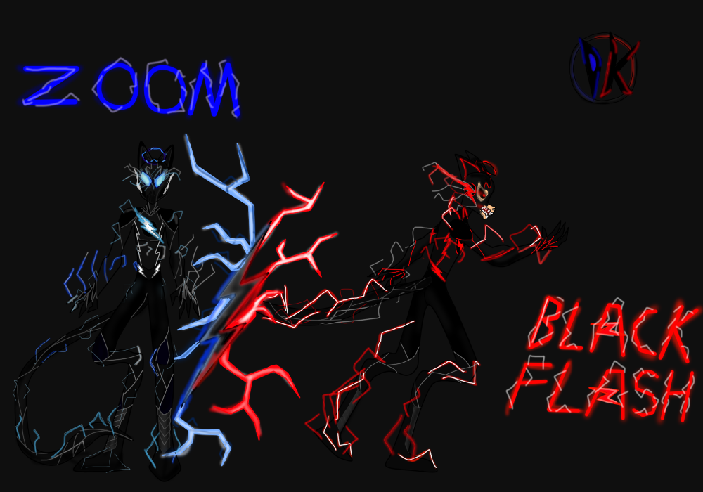 Dreamkeepers X The Flash Zoom The Black Flash By Davidshadow275