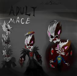 Dreamkeeeprs: Adult Dark Mace by davidshadow275