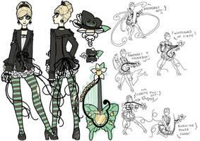 Updated Princess Sailor Eris by inkscribble