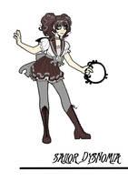 Comm: Sailor Dysnomia by inkscribble