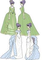 1880's Dresses Part 2 by inkscribble