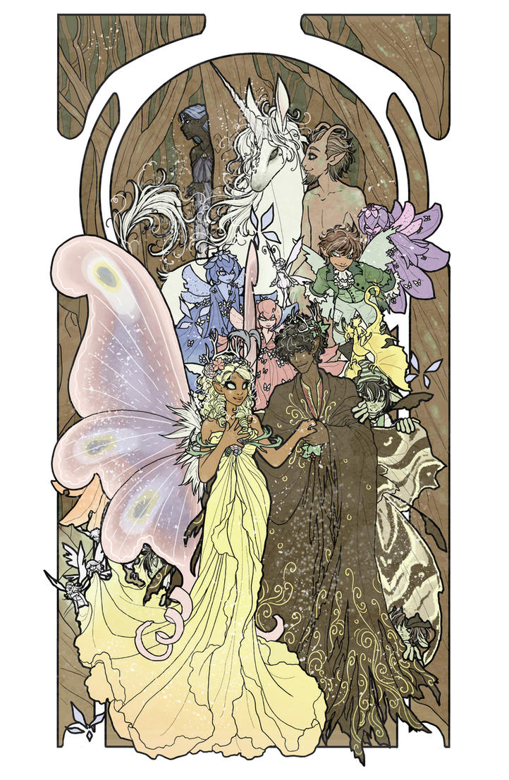 The Faerie Court by inkscribble