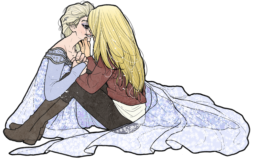 Elsa and Emma by inkscribble