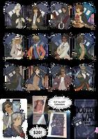Femme!Doctor Who Calendar! by inkscribble