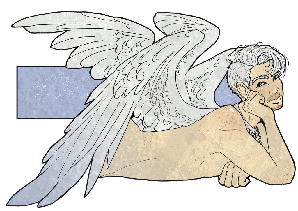 Angelboy by inkscribble