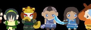 Team Avatar by KarlaHoshi