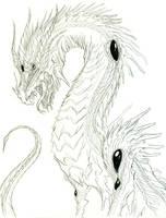 Old Dragon Sketch