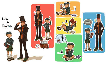 Professor Layton Secret Santa