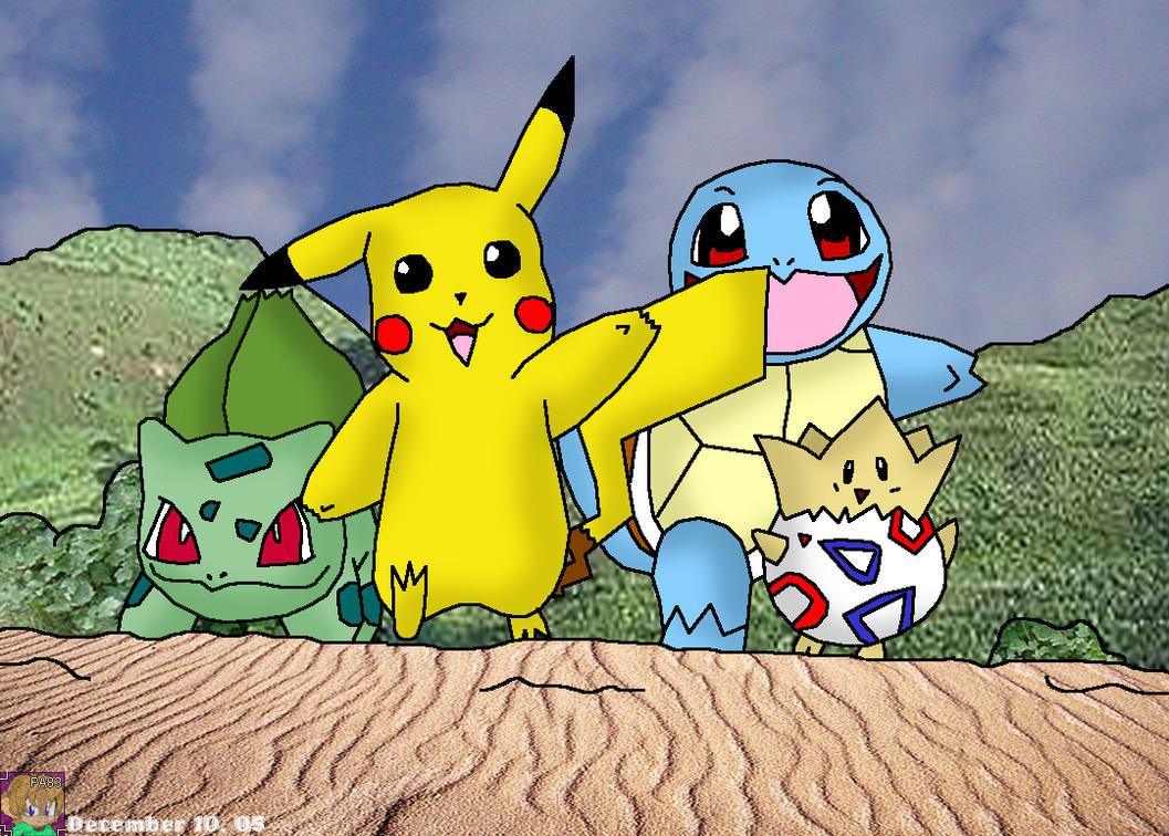 Pin Pikachu-and-friend-pokemon-kawaii-1352-anime-facebook ...