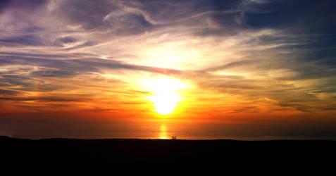 Sunset by lrntm