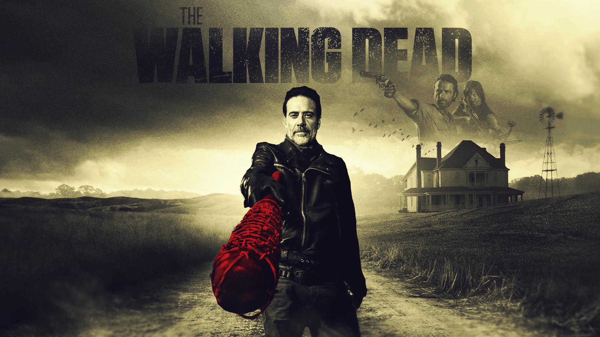 ... The Walking Dead Negan Wallpaper by SaxTop