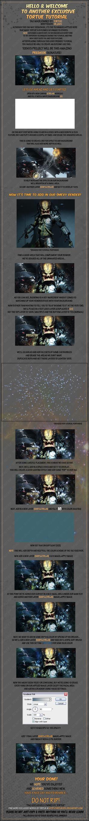 Predator tutorial by Tortuegfx