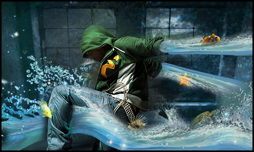 Guy against Element by Tortuegfx