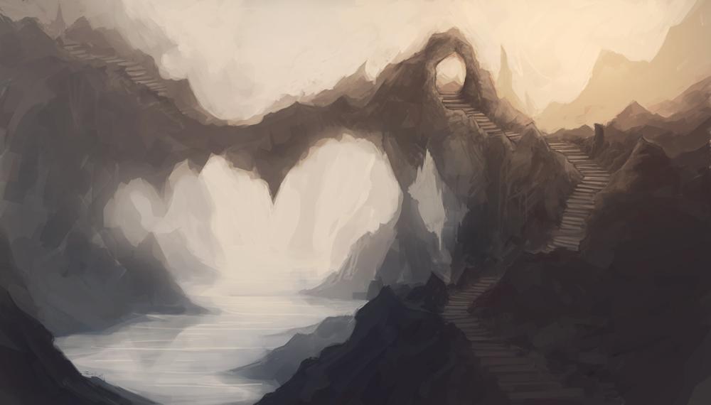 Mountain Stairway by mrNepa
