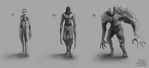 The Byss Project - Creature concepts 01