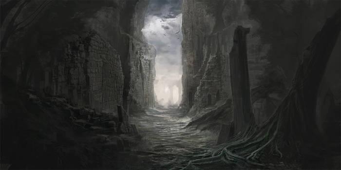 Incarnot project - Ruins concept
