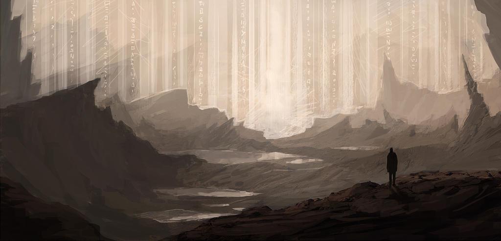 Wall of Light by mrNepa