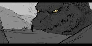 Tame The Beast Sketch by mrNepa