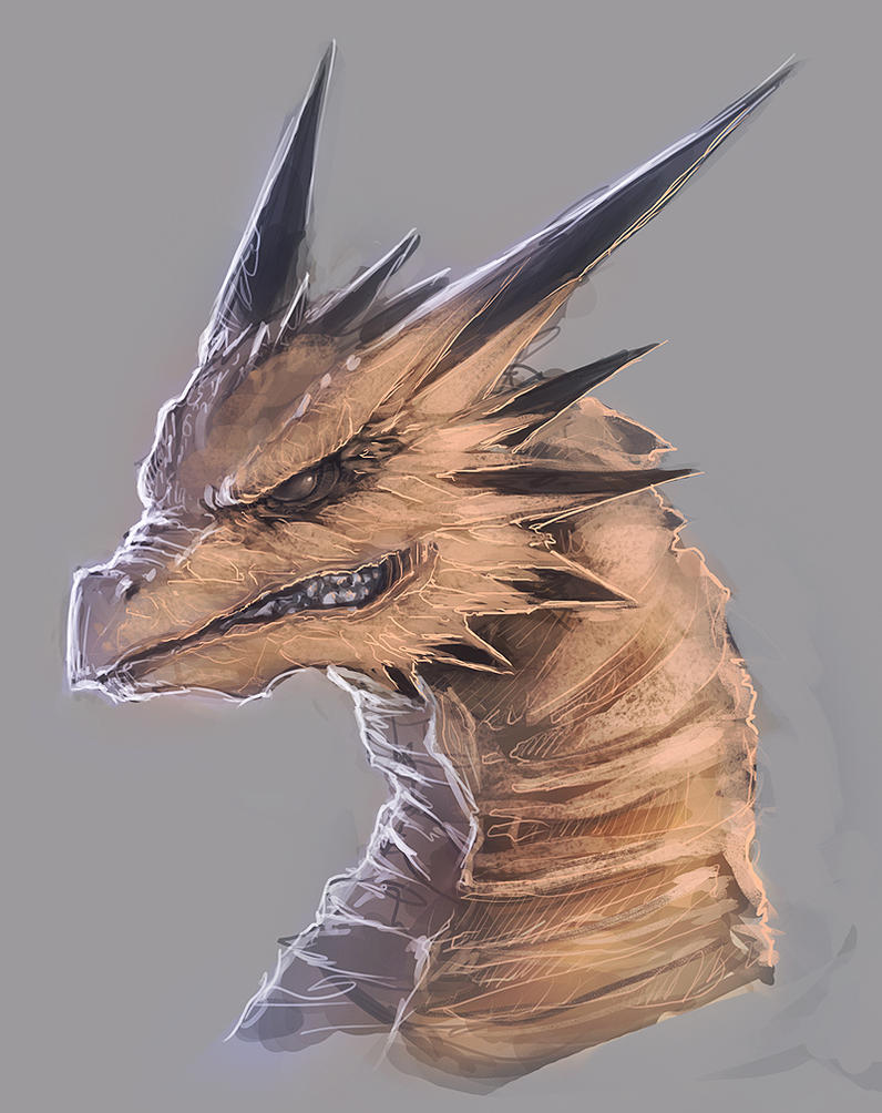 Dragon Head by mrNepa