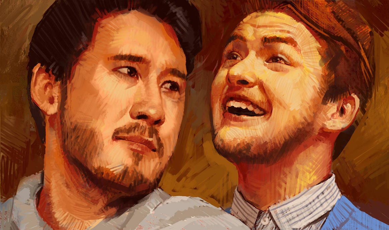 Mark and Daniel by mrNepa