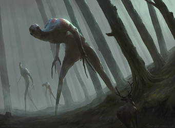 Forest Walkers by mrNepa