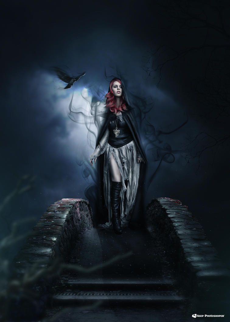Queen Of Darkness by AsepPhotoshoper