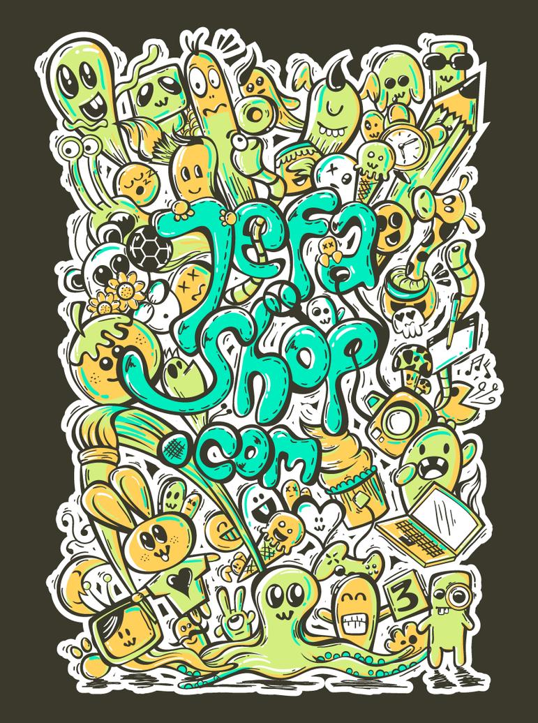 Small-Jefashop-Doddle-art by AsepPhotoshoper