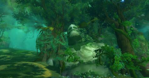 Statue of The Emerald Dream