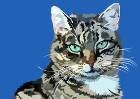 Vector Cat by elviraNL