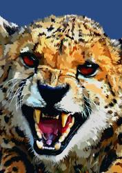 Cheetah Vector by elviraNL