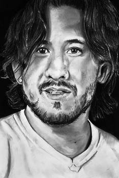 Charcoal drawing - Markiplier