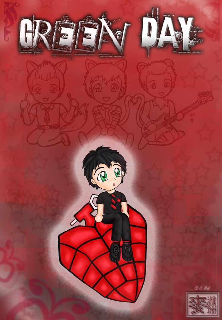 Chibi Green Day Blend by billiej0e