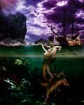 Mermaid Story by JERRYARTZDESIGN