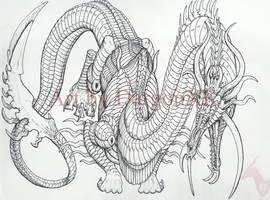 Linework by DargonXKS