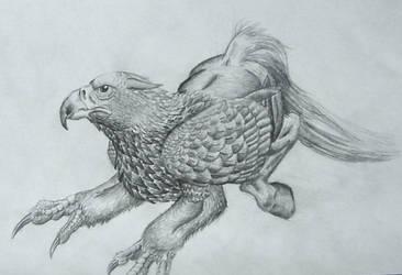 Buckbeak by DargonXKS
